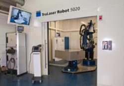 Produktion auf TruLaser Robot 5020